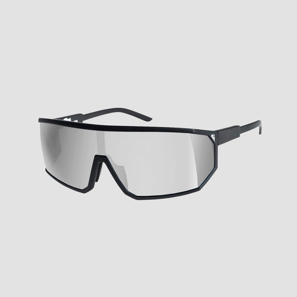 Quiksilver The Mullet Sunglasses Matte Black/Flash Silver - Accessories