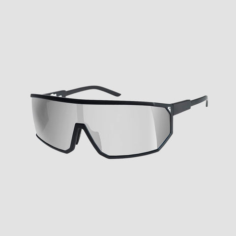 Quiksilver The Mullet Sunglasses Matte Black/Flash Silver