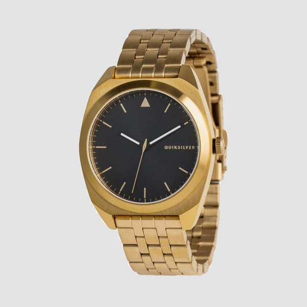 Quiksilver The PM Metal Watch Yellow Gold/Black/Yellow Gold