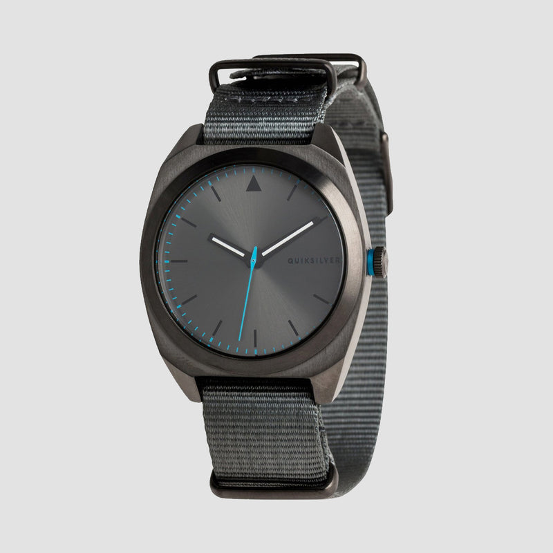 Quiksilver The PM Nato Watch Gun/Gun/Dark Grey