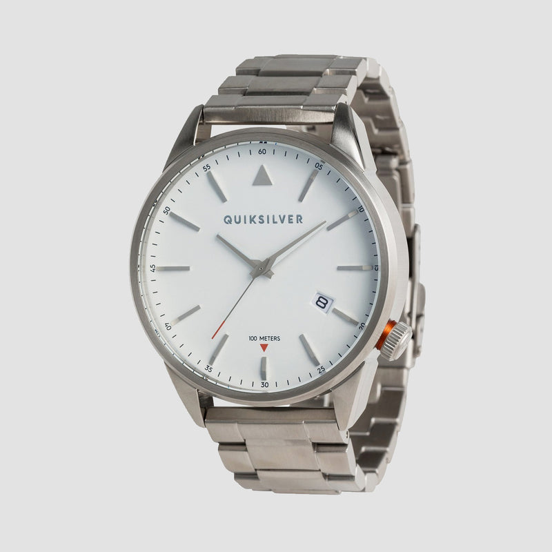 Quiksilver The Timebox Metal Watch Silver