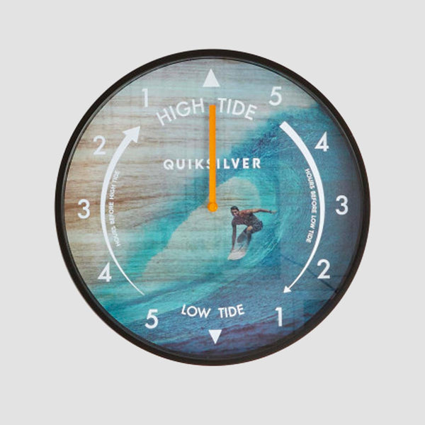 Quiksilver Tide Wall Clock Black