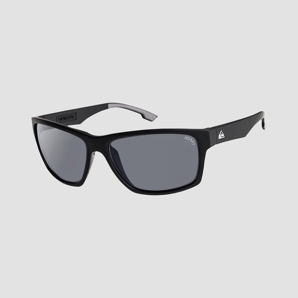 Quiksilver Trailway Adapt Sunglasses Matte Black/HD Photochromic Grey