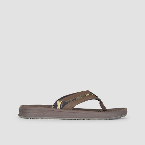 Quiksilver Travel Oasis Sandals Brown/Brown/Brown - Footwear