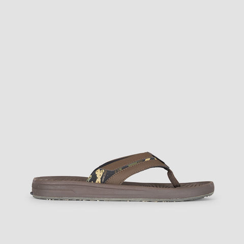 Quiksilver Travel Oasis Sandals Brown/Brown/Brown