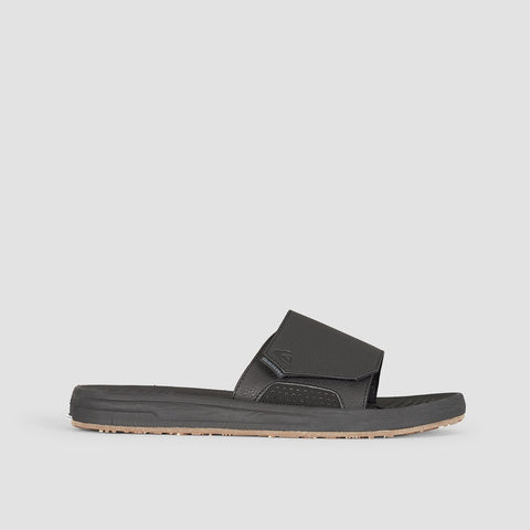 Quiksilver Travel Oasis Slider Black/Black/Brown