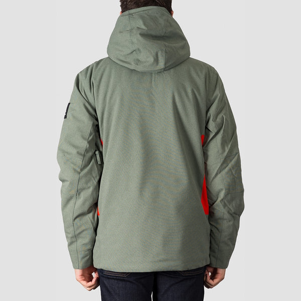 Quiksilver Traverse Snow Jacket Agave Green - Snowboard