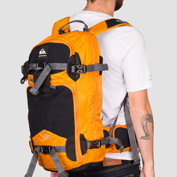 Quiksilver Travis Rice Platinum 24L Snow Backpack Flame Orange