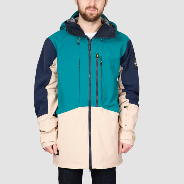Quiksilver Travis Rice Stretch Snow Jacket Everglade