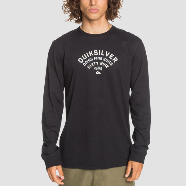 Quiksilver Up To Now Longsleeve Tee Black