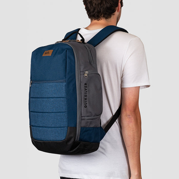 Quiksilver Upshot Plus 25L Backpack Moonlit Ocean