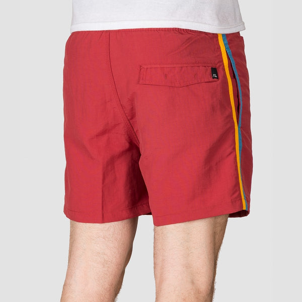 Quiksilver Vibes 16 Swim Shorts Brick Red - Clothing