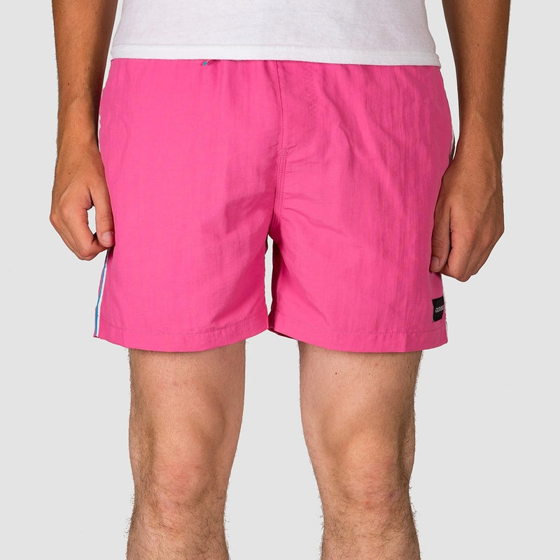 Quiksilver Vibes 16 Swim Shorts Carmine Rose - Clothing