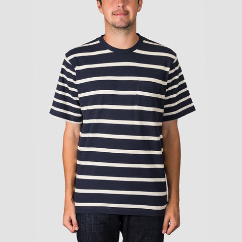 Quiksilver Waterman Sea Fight Pocket Tee Parisian Night