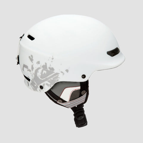 Quiksilver Wildcat Snow Helmet Snow White