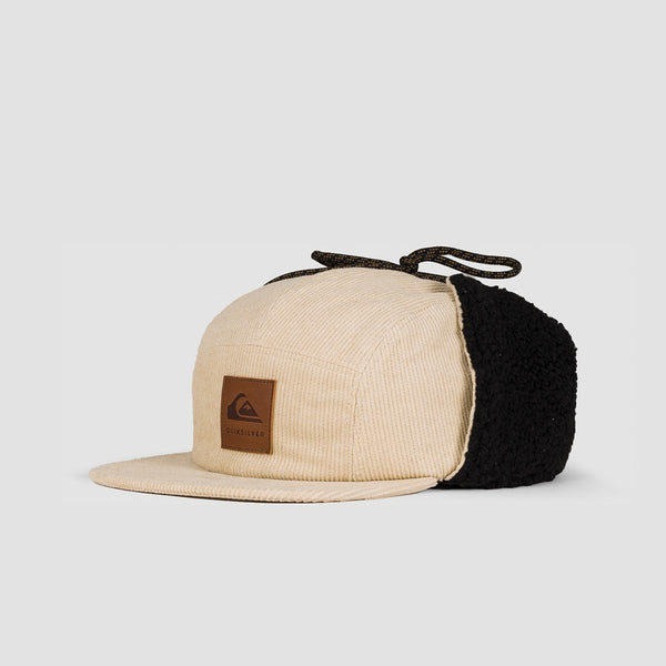 Quiksilver Winter Corduroy Camper Cap Mojave - Accessories