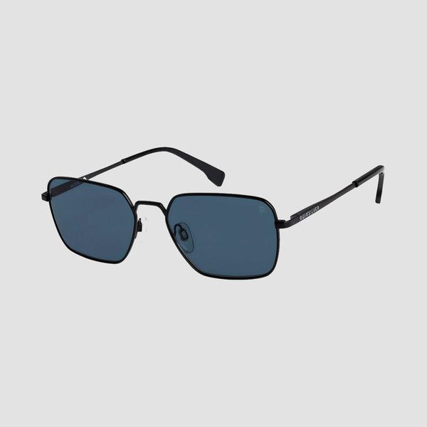 Quiksilver Wizard Sunglasses Matte Black/Grey Polarised