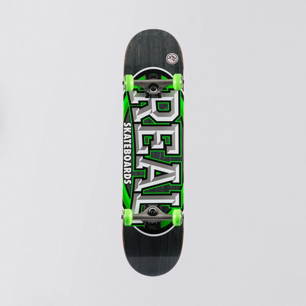 Real Alumni Pre-Built Complete Medium Green - 7.75 - Skateboard
