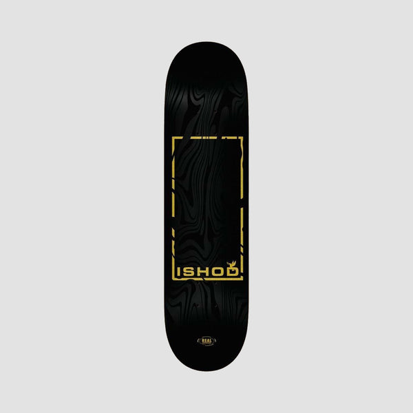 Real Ishod Marble Dove Deck Black - 8.12""
