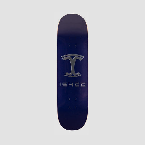 Real Ishod Model W Full S-E Deck Blue/Silver - 8.38""