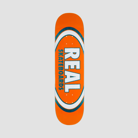 Real Jafin Am Edition Oval Full SE Deck Blue/Orange - 8.25""