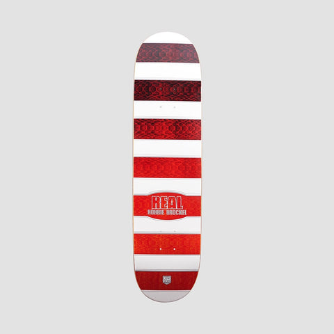 Real Low Mellow Robbie Sonoran Pro Deck White/Red - 8.06""