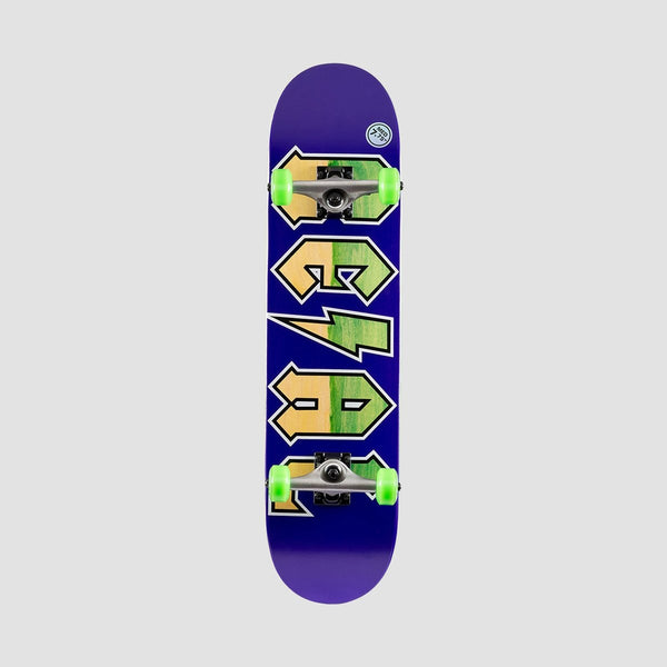Real New Deeds Pre-Built Complete Medium Purple - 7.75 - Skateboard