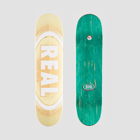Real Oval Burst Fade PP Deck - 7.56""