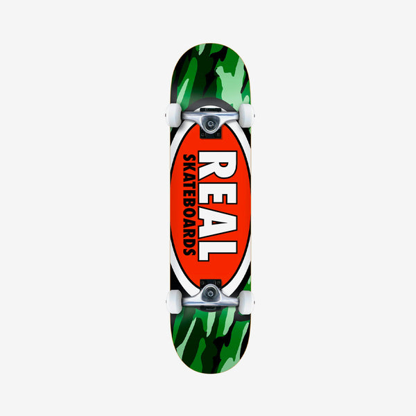 Real Team Oval Camo Pre-Built Complete Multi - 7.75""