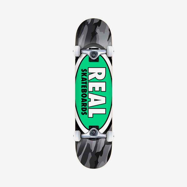 Real Team Oval Camo Pre-Built Complete Multi - 8.25""