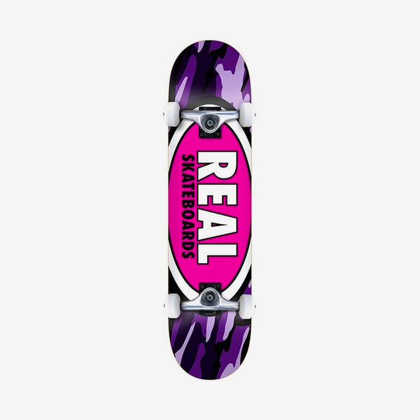 Real Team Oval Camo Pre-Built Complete Multi - 8""