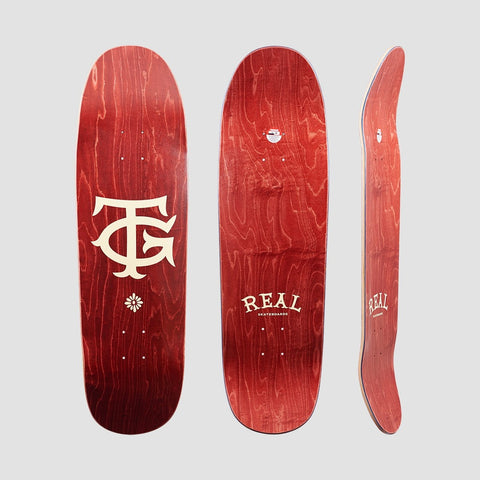 Real The TG Deck Maroon - 9.2 - Skateboard