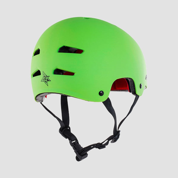 REKD Elite Helmet Green/Black - Safety Gear
