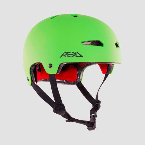 REKD Elite Helmet Green/Black