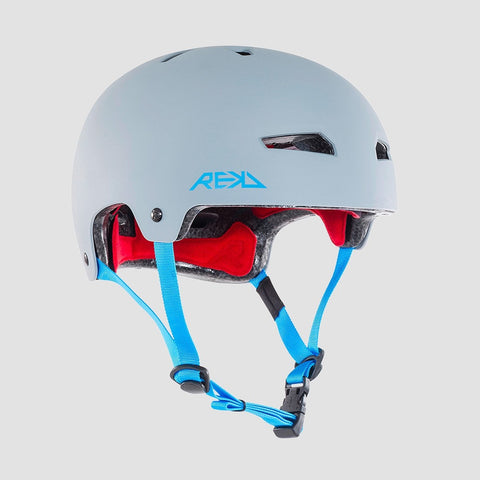 REKD Elite Helmet Grey/Blue