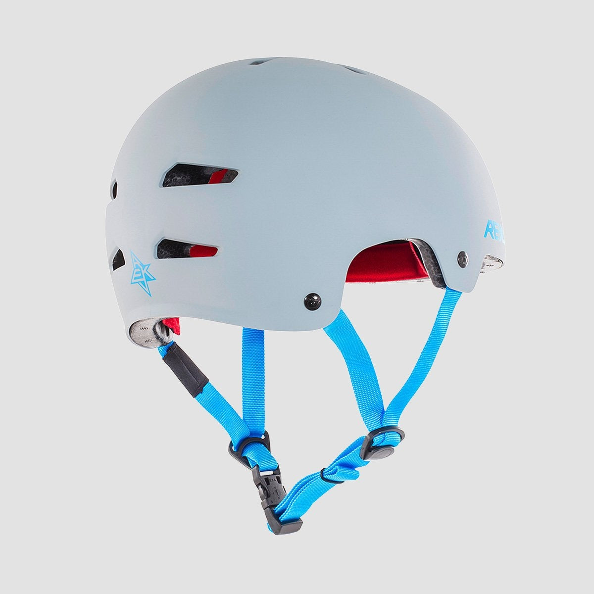 REKD Elite Helmet Grey/Blue - Safety Gear