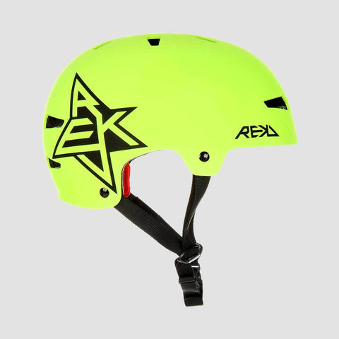 REKD Elite Icon Helmet Green/Black