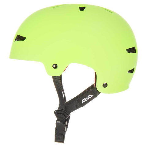 REKD Elite Icon Helmet Green/Black - Safety Gear