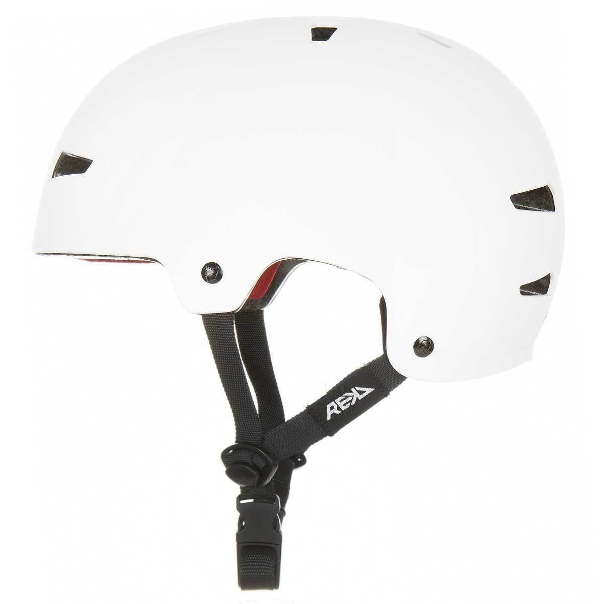 REKD Elite Icon Helmet White/Black - Safety Gear