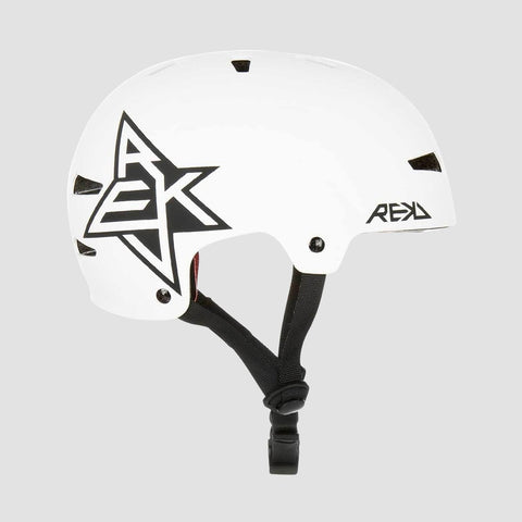 REKD Elite Icon Helmet White/Black