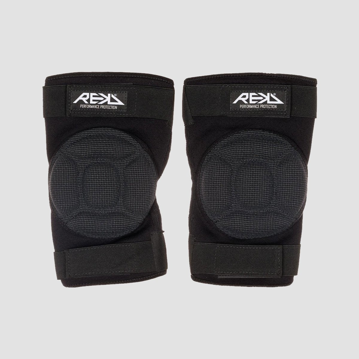 REKD Impact Knee Gaskets Black - Safety Gear