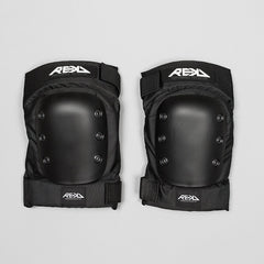 REKD Pro Ramp Knee Pads Black - Safety Gear