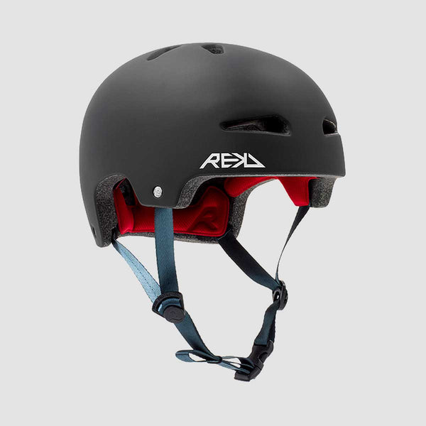 REKD Ultralite In-Mold Helmet Black - Kids