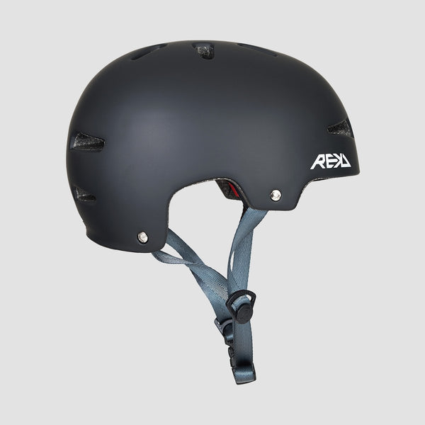 REKD Ultralite In-Mold Helmet Black - Safety Gear