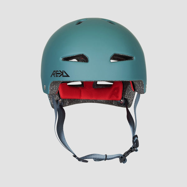 REKD Ultralite In-Mold Helmet Green - Safety Gear