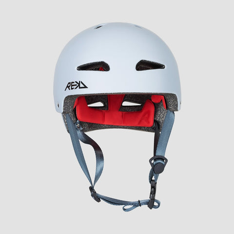 REKD Ultralite In-Mold Helmet Grey - Safety Gear