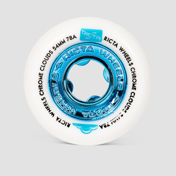 Ricta Chrome Clouds 78a Wheels Blue 54mm