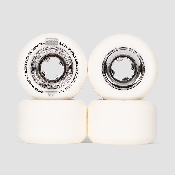 Ricta Chrome Clouds 92a Wheels Black 54mm