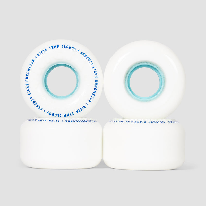 Ricta Clouds 78a Wheels White/Blue 52mm