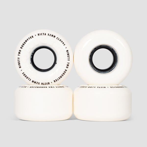 Ricta Clouds 92a Wheels White/Black 52mm